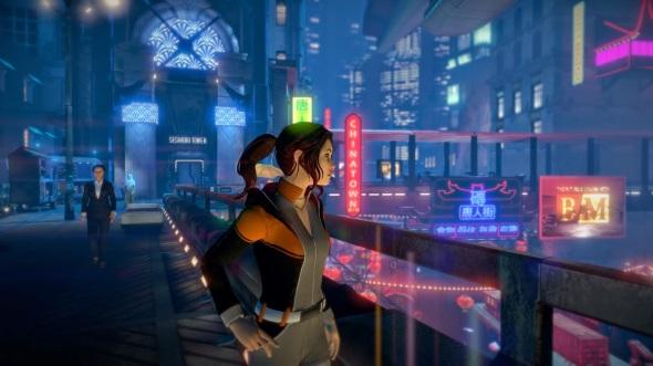 Zoe and Chinatown